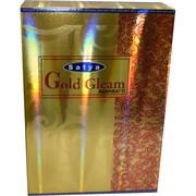 Благовония Satya «Gold Gleam» 15 грХ12 уп натуральные