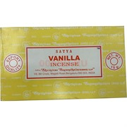 Благовония Satya Vanilla 15 гр 12 упаковок