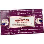 Благовония Satya Meditation 15 гр 12 упаковок