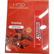 HQD Корица Cinnamon 300 затяжек электронный персональный испаритель