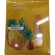 HQD Ананас Pineapple 300 затяжек электронный персональный испаритель