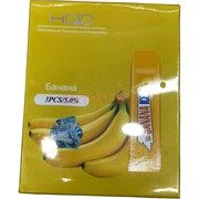 HQD Банана Banana Ice 300 затяжек электронный персональный испаритель