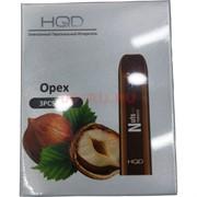 HQD Орех Nuts 300 затяжек электронный персональный испаритель