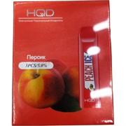 HQD Персик Peach Ice 300 затяжек электронный персональный испаритель