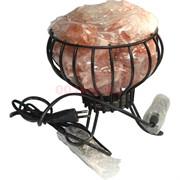Лампа солевая металлическая чаша