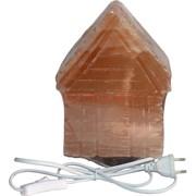 """Лампа солевая """"домик"""" большая 23 см с зарядкой USB"""