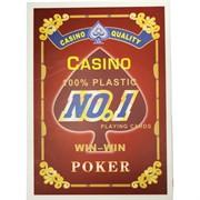 Карты покерные 54 шт No1 Win-Win Poker