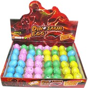 Игрушка (RS-04) растущий динозавр Dinosaur Egg 2304 шт/кор