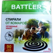 Спирали от комаров Battler 10 шт 90 часов защиты