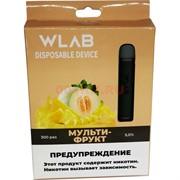 WLAB 300 затяжек Мультифрукт одноразовый испаритель