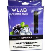 WLAB 300 затяжек Черника одноразовый испаритель