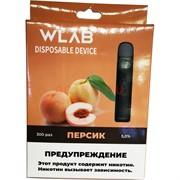 WLAB 300 затяжек Персик одноразовый испаритель