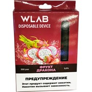 WLAB 300 затяжек Фрукт Дракона одноразовый испаритель