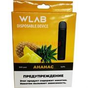 WLAB 300 затяжек Ананас одноразовый испаритель