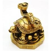 Черепаха с жезлом Жу И (T-7006) из полистоуна