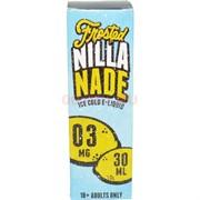 Жидкость с солевым никотином 0 мг Frested Nilla Nade 30 мл
