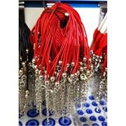 Браслет красная нить вощеный шнурок 100 шт/уп