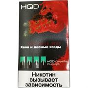Сменные картриджи HQD (JUUL) 4 шт Хвоя и Лесные Ягоды