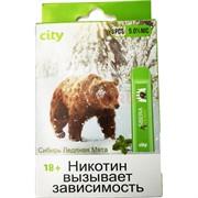 City 300 затяжек «Сибирь Ледяная Мята» электронный испаритель