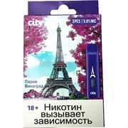 City 300 затяжек «Париж Виноград» электронный испаритель