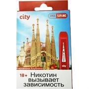 City 300 затяжек «Барселона Клубника» электронный испаритель