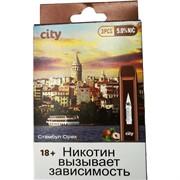 City 300 затяжек «Стамбул Орех» электронный испаритель