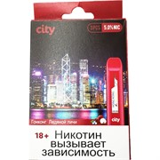 City 300 затяжек «Гонконг Ледяной личи» электронный испаритель