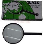 Лупа 100 мм в пластмассовой оправе