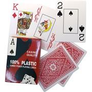 Карты игральные пластиковые Casino Quality 54 карты/колода (арт.8028)