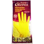 Хозяйственные перчатки в ассортименте размер M 12 шт/уп