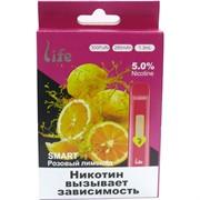 Life Smart Розовый лимонад 300 затяжек электронный испаритель