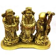 Три старца ФуЛуШу на подставке под бронзу
