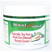 Крем natural Avocado, Tea Tree&Dead Sea Mineral Beauty Cream