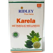Karela Ridley 60 таблеток регулирует уровень сахара