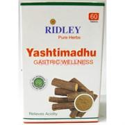 Yashtimadhu Ridley 60 таблеток от кашля и простуды
