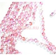 Нитка бусин 12 мм из матового розового опала 36 бусин