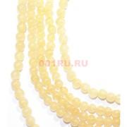 Нитка бусин 4 мм из светло-желтого цитрина 67 шт