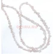 Нитка бусин из розового кварца 215 шт