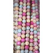 Бусины из сахарного кварца разноцветные 8 мм цена за нитку из 49 шт