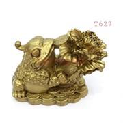 Жаба (T627) с цветком