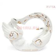 Статуэтка лебеди (F173A) фарфоровые