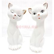 Кошки фарфоровые набор из 2 шт