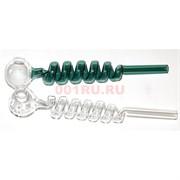 Трубка стеклянная «6 витков» oil pipe 17 см
