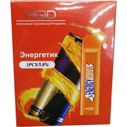 HQD V2 Энергетик 300 затяжек одноразовый электронный испаритель
