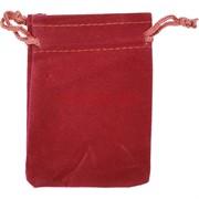 Чехол подарочный замша бордовый 7x9 см 50 шт/уп