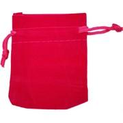 Чехол подарочный замша розовый 12x15 см 50 шт/уп