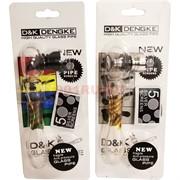 Трубка стеклянная D&K 8793 с сеточками