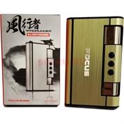 Портсигар-зажигалка Focus (JD-YH007) с выкидывателем сигарет
