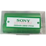 Аккумулятор SONY 18650 VTC5A 2600 mAh цена за 2 шт