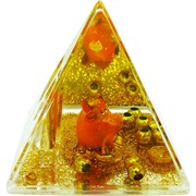 Карандашница 7 см Бык Символ 2021 года треугольные с глицерином